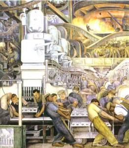 Diego Rivera Detroit Mural