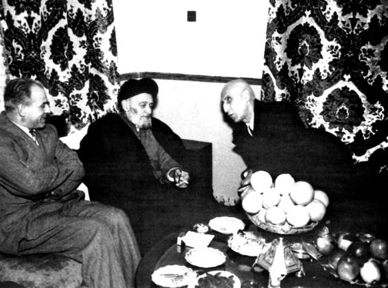 Mossadegh and Ayatollah Kashani