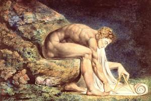 Blake Print of Newton